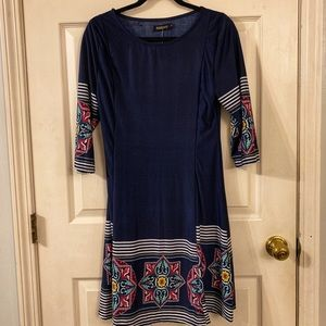 Reborn 3/4 sleeve dress
